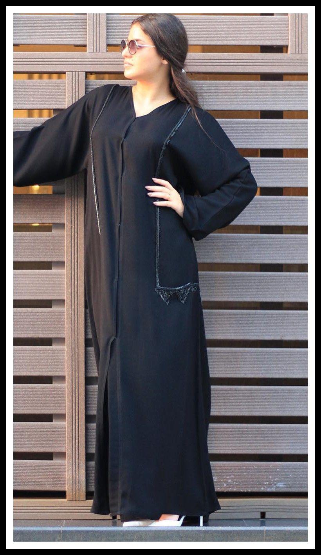 عبايات خليجية فخمة Maxi Dress Fashion Long Sleeve Dress