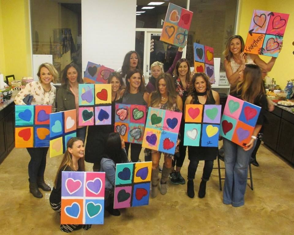 Private painting party packages available private parties for Private paint party