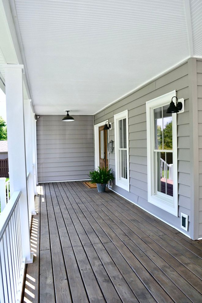 Behr Porch And Patio Paint Quart: Cordovan Brown Behr Semi-transparent Stain (floor)