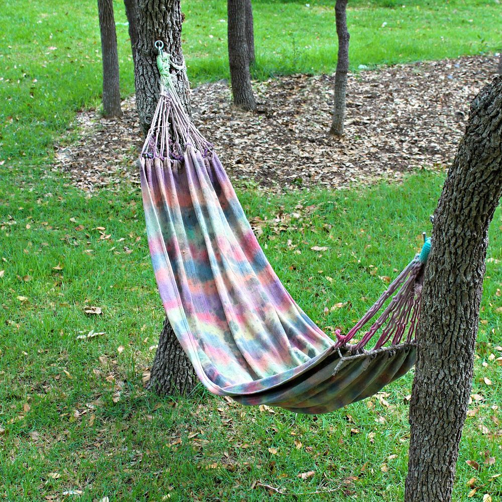 decorations spun soft pillow wood home stand hammock comfort sale rope with clearance depot person