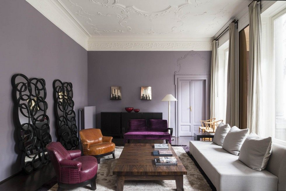 milan apartment designed by world s most expensive furniture rh pinterest com