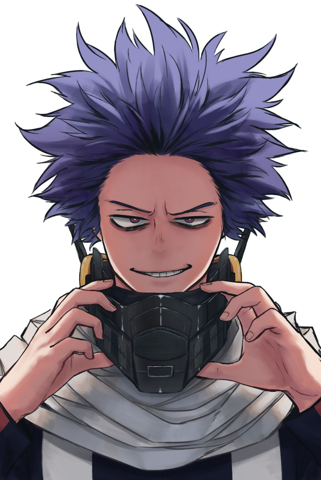 My baby is in the hero course now!!!!!! | Shinso Hitoshi and