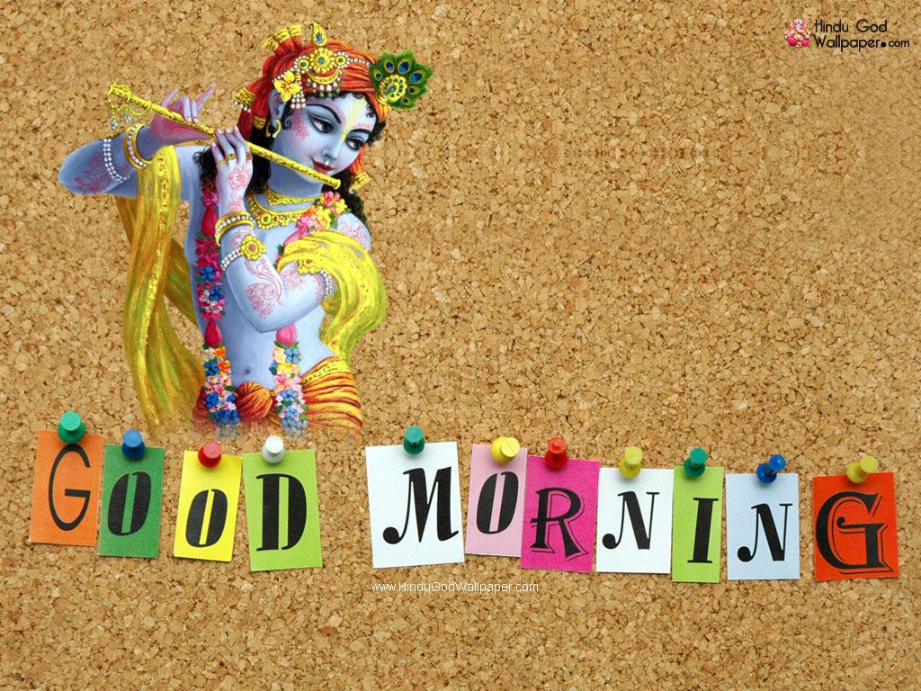 Good Morning Krishna Images Pics Wallpapers Very Very Nice