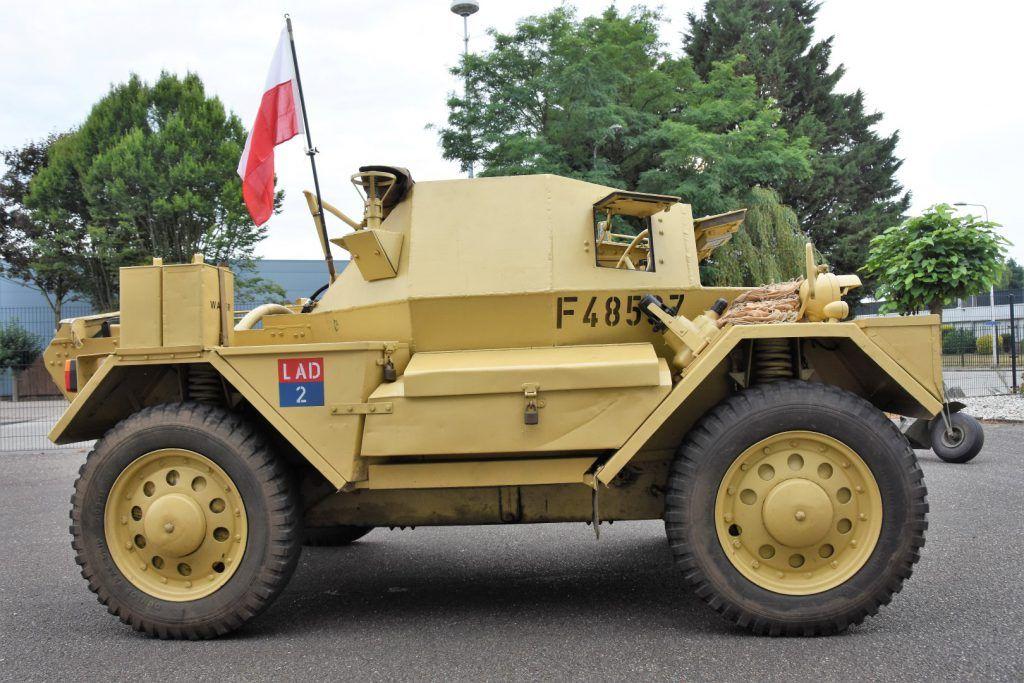 1942 Daimler Dingo F45837 Baiv B V Dingo Armored Fighting
