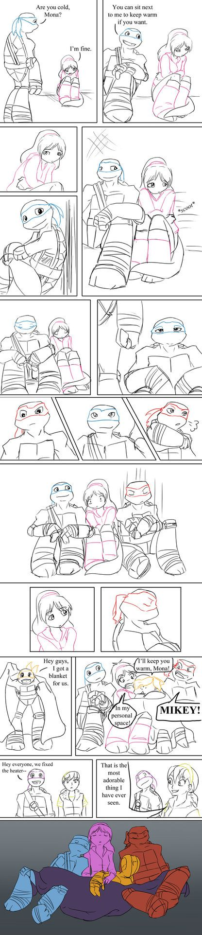 TMNT: Cold by Ty-Chou