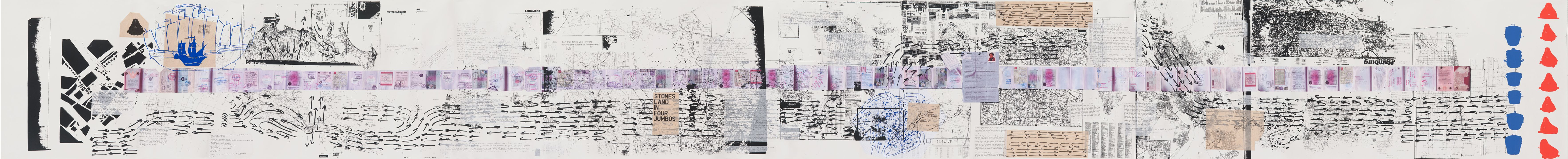 Untitled 20082011 (the map of the land of feeling) 2008