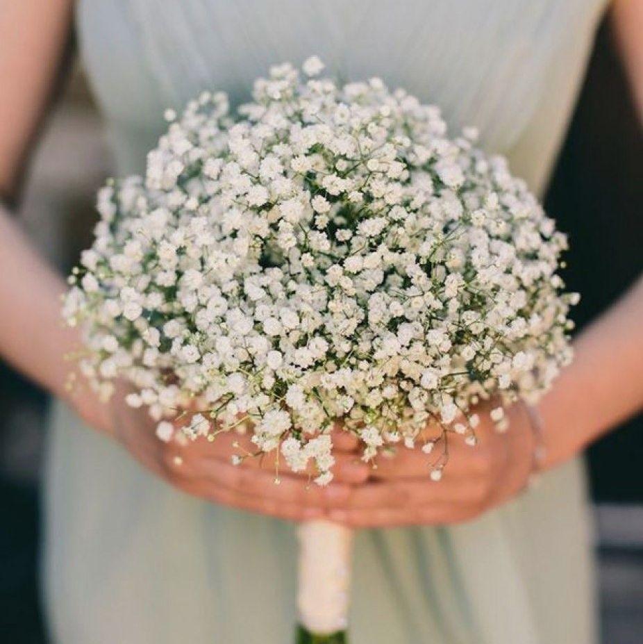 Маленькие беленькие цветочки в букетах