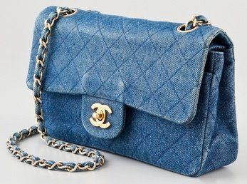 93e8e705620b0f Chanel Denim bag | Bags & Clutches by Charline Z in 2019 | Denim bag ...