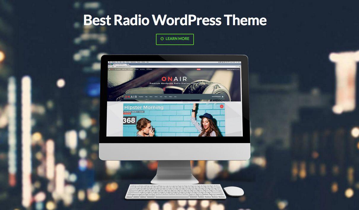 ON AIR: The Best Radio WordPress Theme Buy Link: http ...