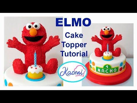 Youtube Elmo Cake Cake Cake Toppers