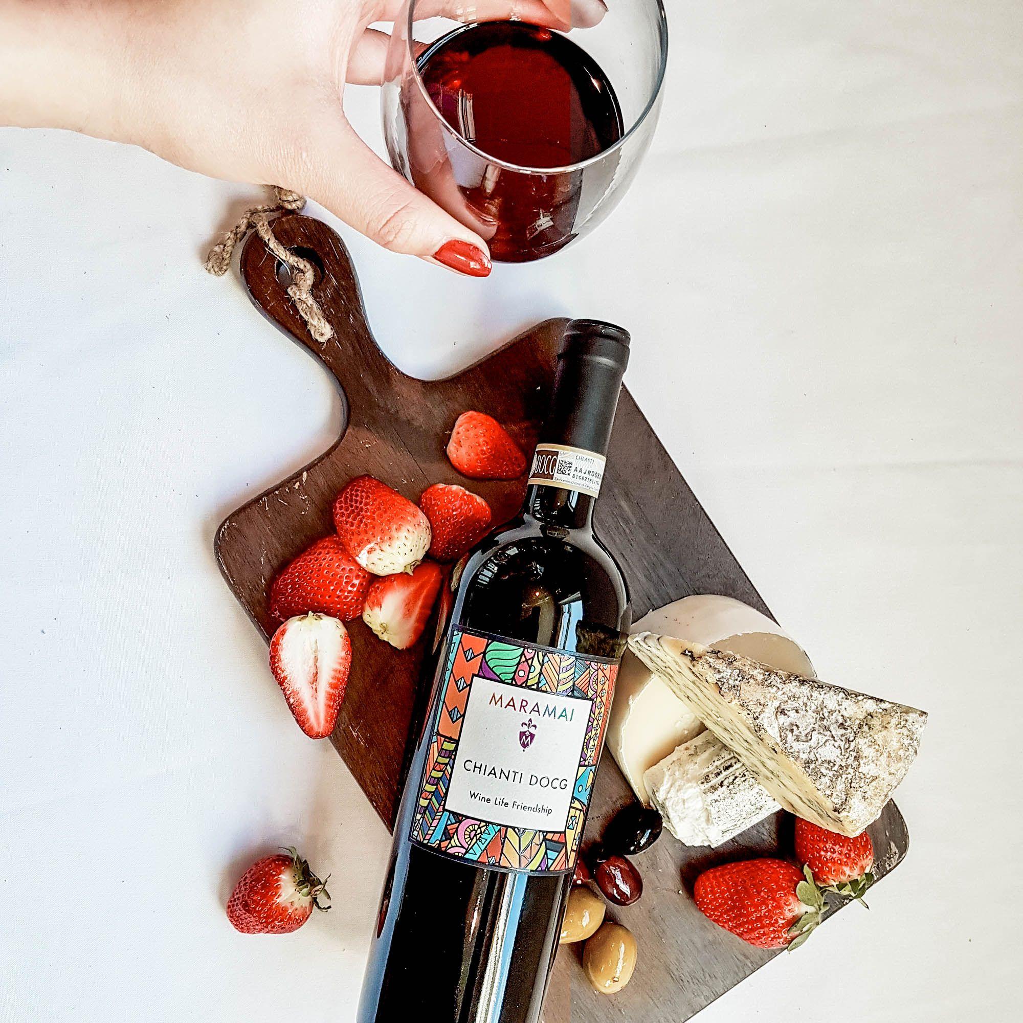 2015 Maramai Tuscany Chianti Docg Vino Vinograd