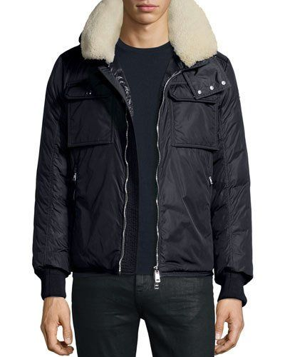 moncler down pullover