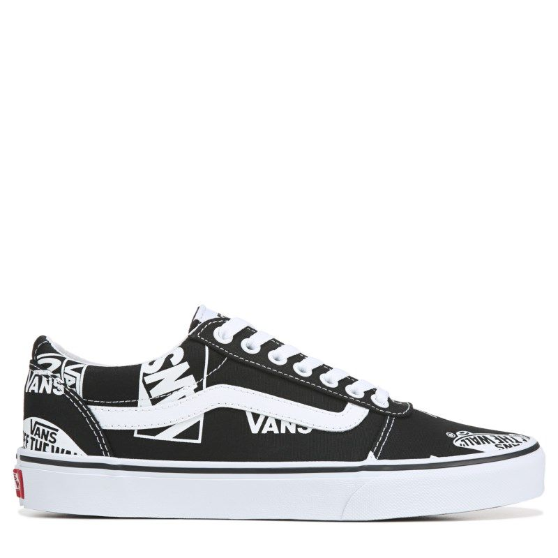 low priced super cute sale retailer Vans Men's Ward Low Top Sneakers (Black/White) in 2019 ...