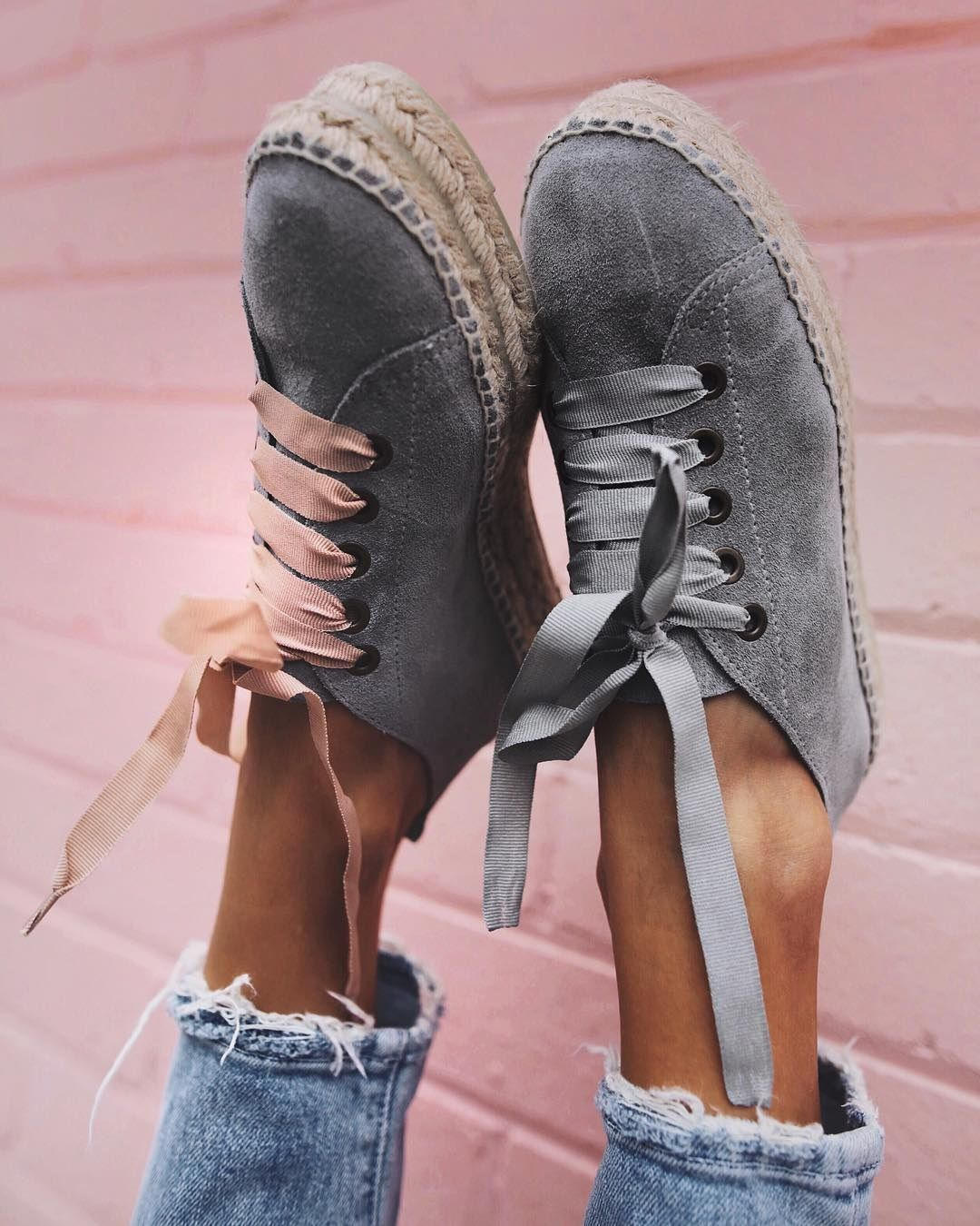 With the practicality of a trainer combined with the summery feel of an espadrille, sneakerdrilles (as coined by WhoWhatWear) are set to be the run-around shoe of the season. For relaxed, easy style, Spanish label Manebi's alternative to chunky leather designs are ideal for hot weather days.