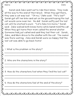 Constructed Response for 2nd | Classroom Freebies! | Reading ...