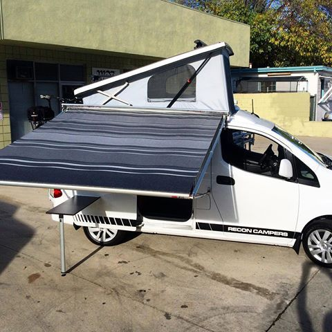 New NV200 Deluxe Awning Huge For Compact Camper Recon Campers Reconvans Reconvehicles Poptopvan Poptop Westfalia Vw Vanagon Eurovan