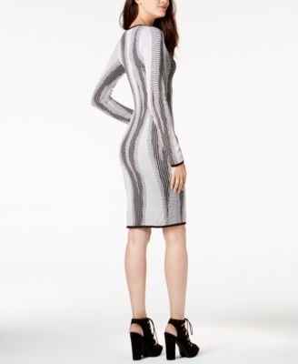 89a246f12e Bar Iii Cutout Bodycon Sweater Dress