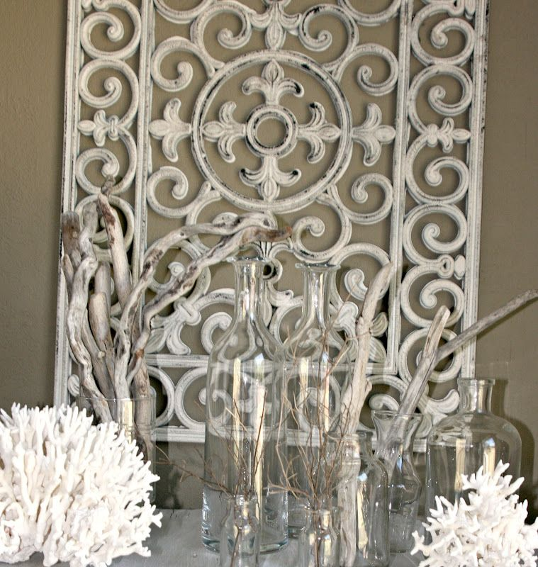 """Wall Decor Store: DIY Vintage """"Iron"""" Piece Actually Made From Rubber Mat"""