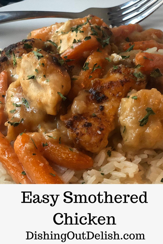 Smothered Chicken in 2020 | Easy chicken recipes, Chicken ...