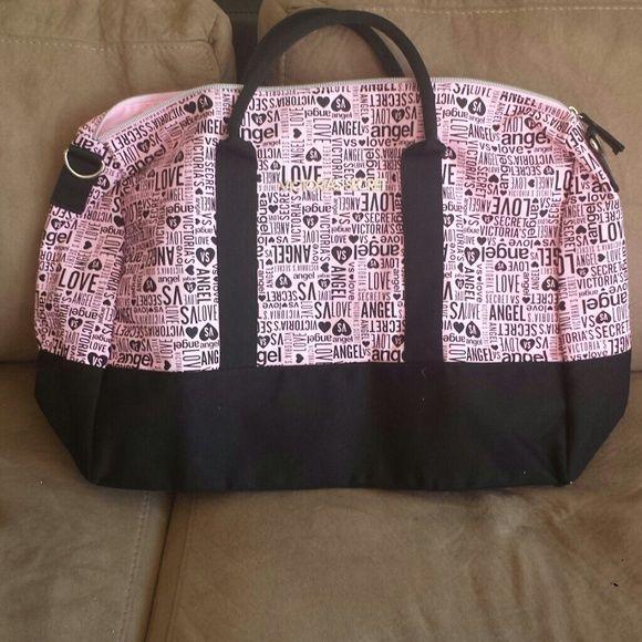 Victoria Secret travel bag Pink and black travel bag. Brand new. Bags Travel Bags