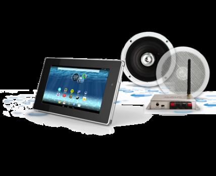 Gira Inbouwradio Badkamer : Aquasound badkamer tablet pro badkamer radio kits