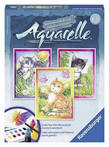 Kids Paint With Water Kits Ravensburger Aquarelle Cats Arts