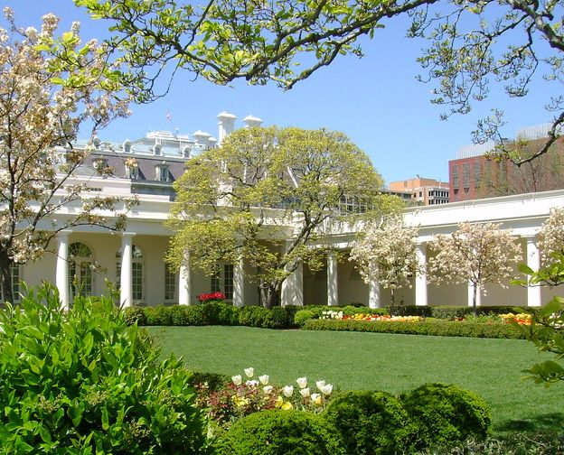 Inside The White House White house garden, Inside the