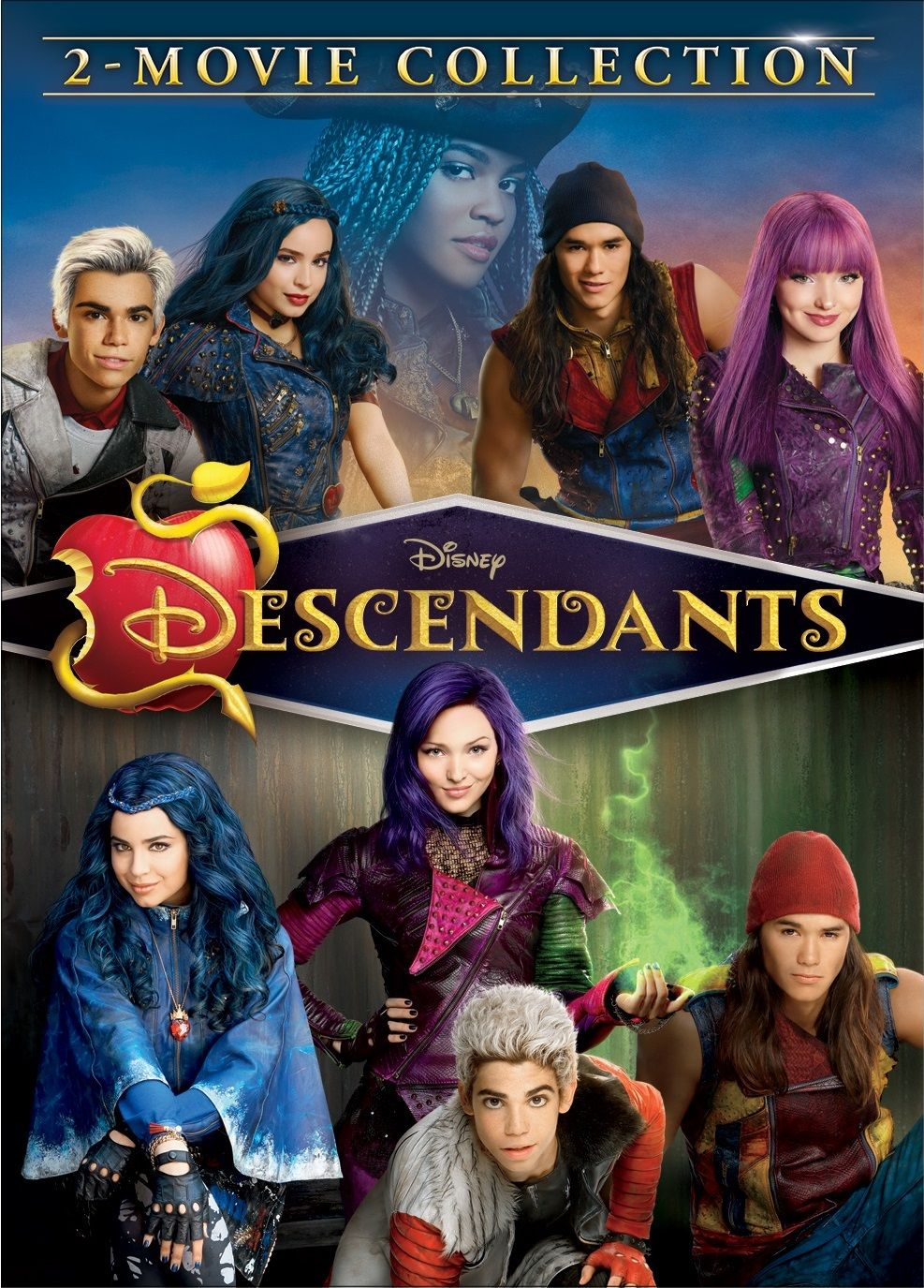 Free 2 Day Shipping On Qualified Orders Over 35 Buy Descendants 1 Descendants 2 2 Movie Collection Movie Collection Descendants 2 Movie Disney Descendants
