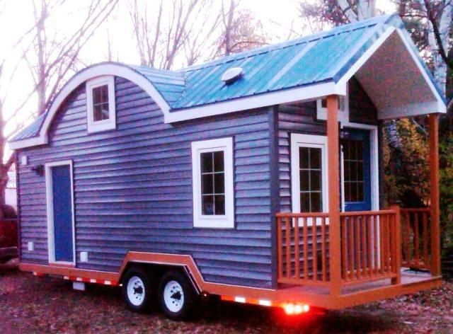 wildflower ii on wheels | tiny green cabins | small house addict