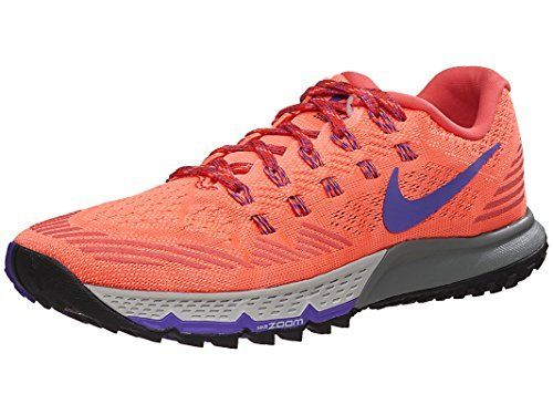 new styles 91e5d e77c3 Nike Womens Air Zoom Terra Kiger 3 Running Shoes (7 B(M) US, Orange)