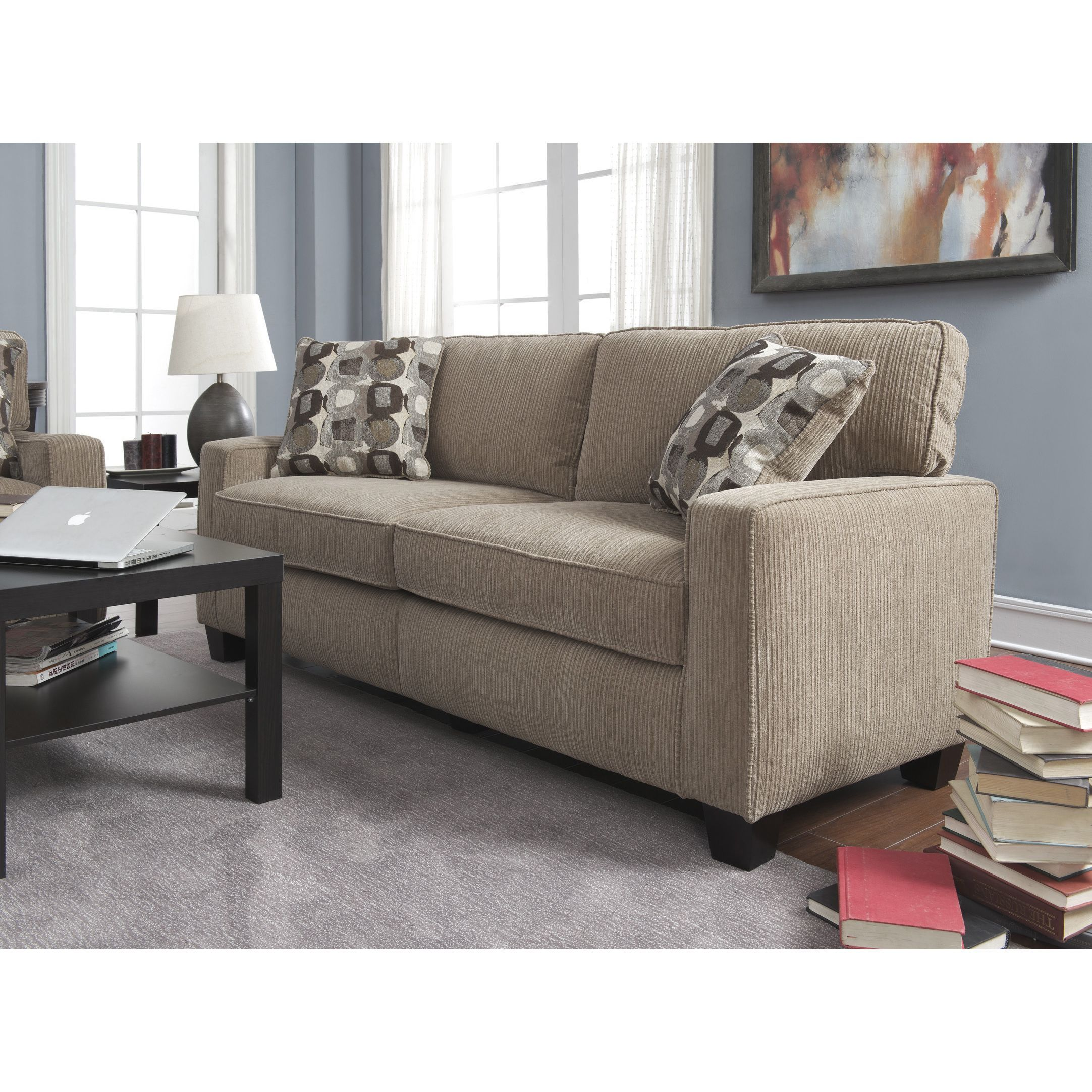 Charming Sit Back And Relax In The Ultra Comfortable Santa Cruz Sofa From Serta,  Constructed