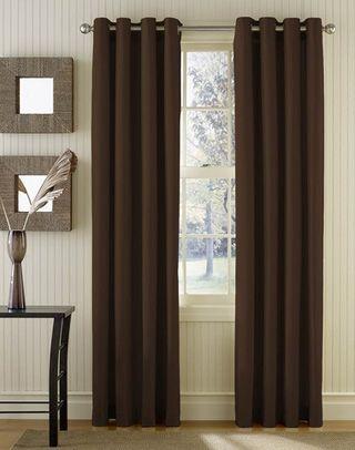 Sailcloth Cotton Canvas Grommet Top Curtain Panel Long Lengths
