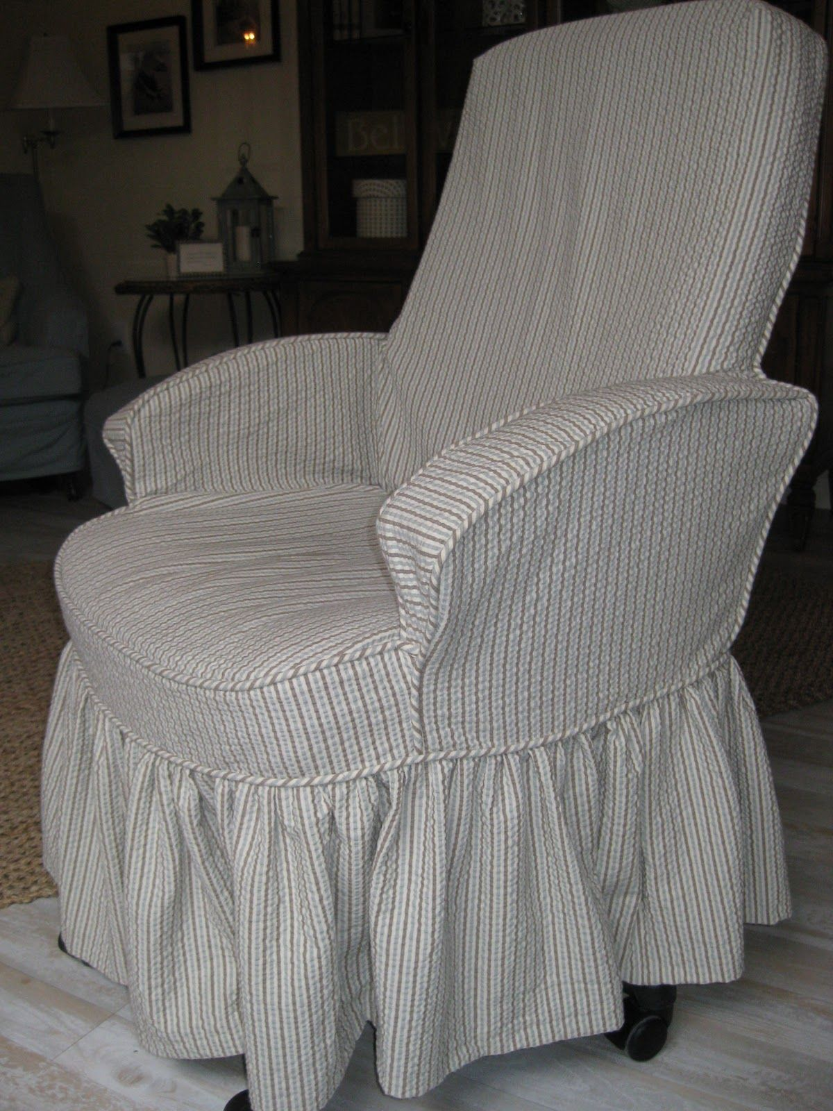 Office Chair slipcovers Custom Slipcovers by Shelley