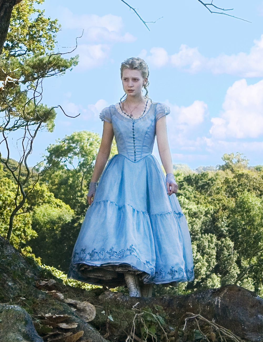 mia wasikowska alice - Google Search | Atrizes, Vestidos ...
