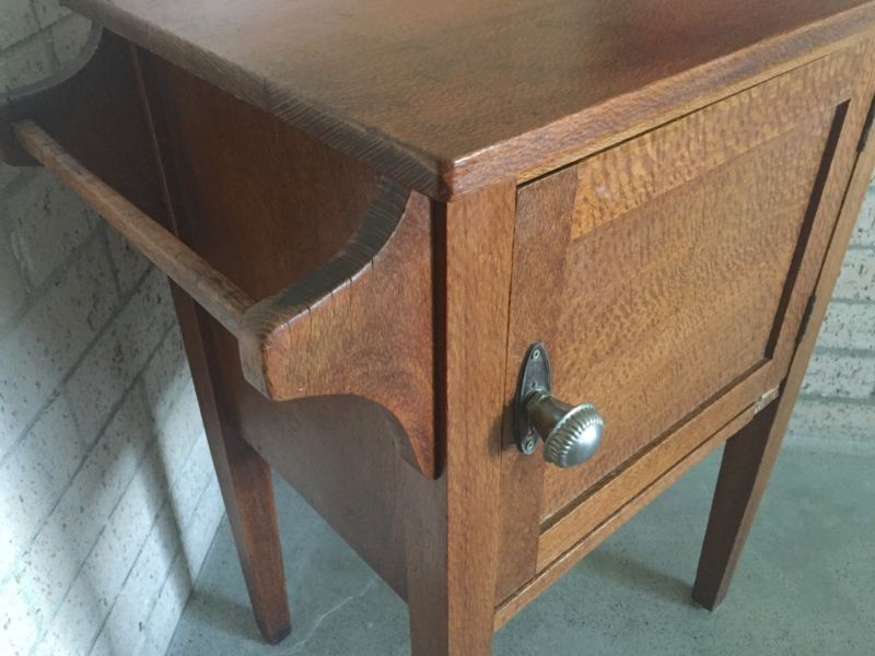 Antique Silky Oak Bedside Cupboard Antiques Gumtree Australia Brisbane North East New Farm 1176481525 Oak Bedside Tables Bedside Cupboard Oak