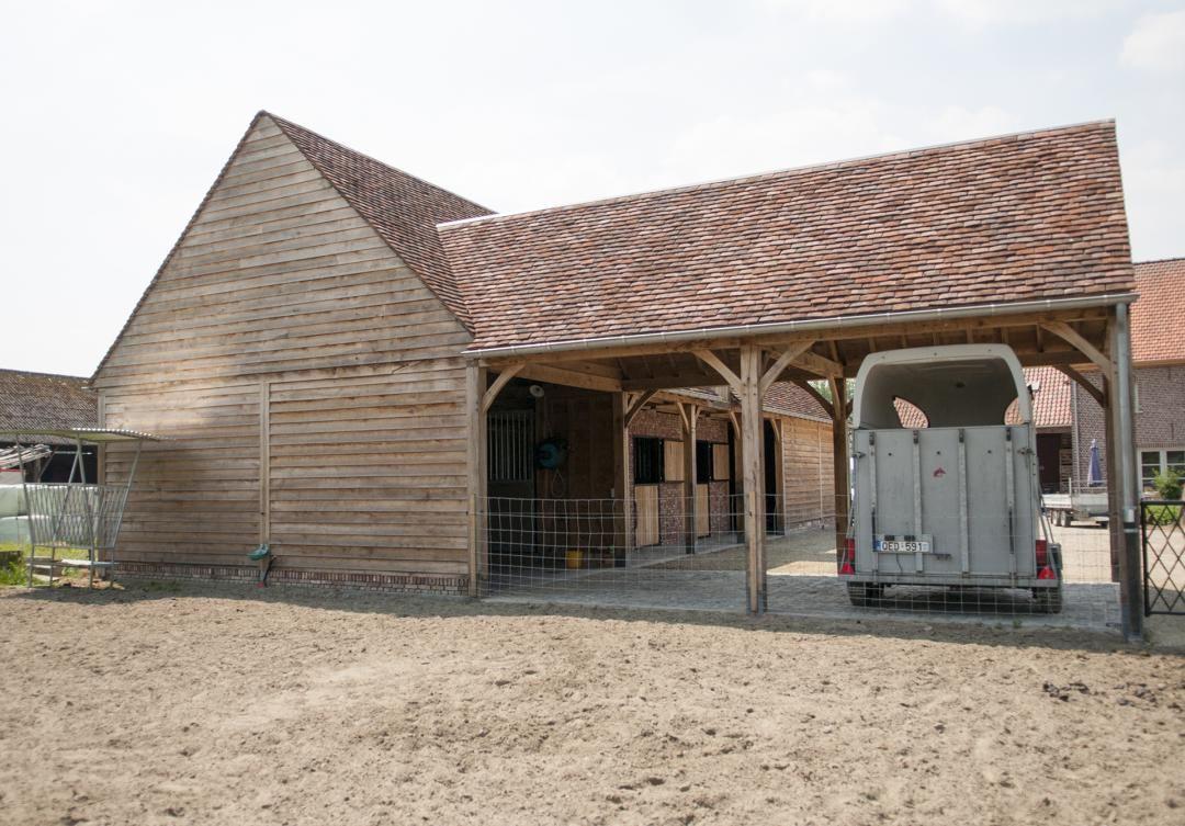 carports landelijke stijl - houten bijgebouwen op maat | Eiken ...