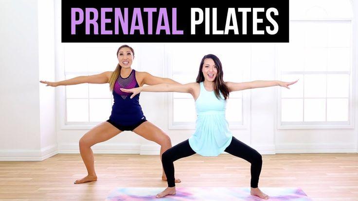 6-minütiges Schwangerschaftstraining mit Blogilates! - Youtube   - Fitness - #6minütiges #Blogilates...