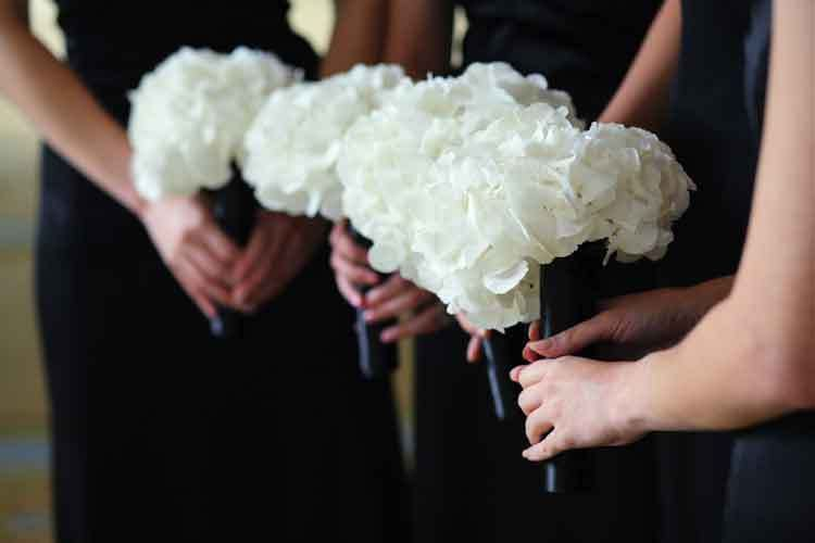 Hydrangea Schneeball Via Botanicalartdesign Wedding FlowersWhite