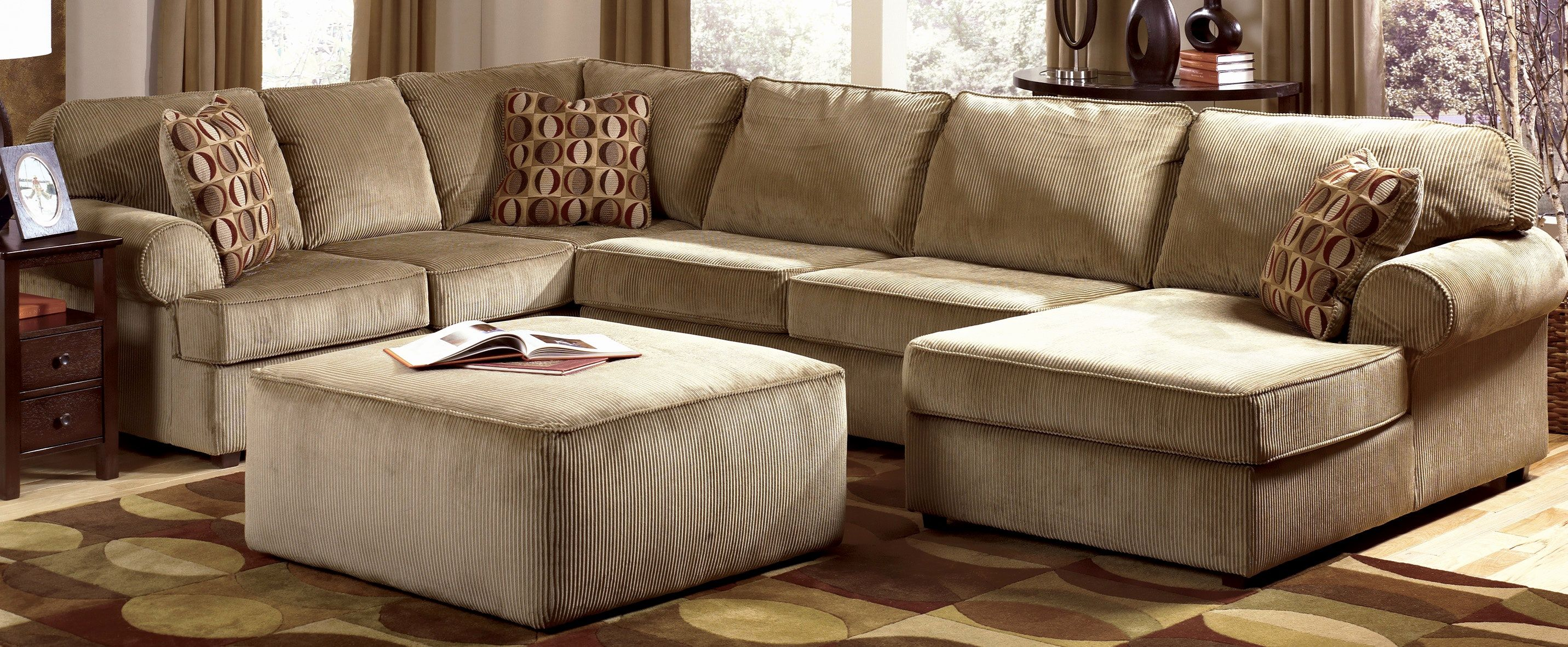 Elegant Oversized Leather Sofa Photographs 79 Great Ornate Warm U Shaped Chaise With Brown Sectional Sofa Sectional Sofa With Chaise Leather Sofa And Loveseat