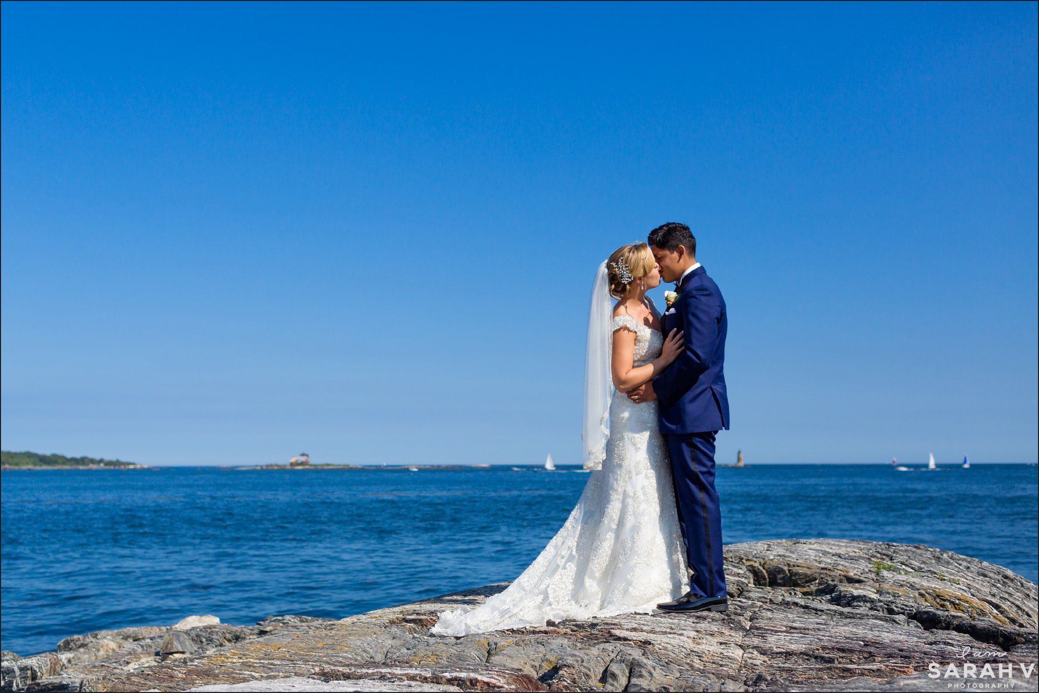 Wentworth By The Sea New Castle Nh Wedding Photographer Hampshire Ocean Beach Photo Portsmouth