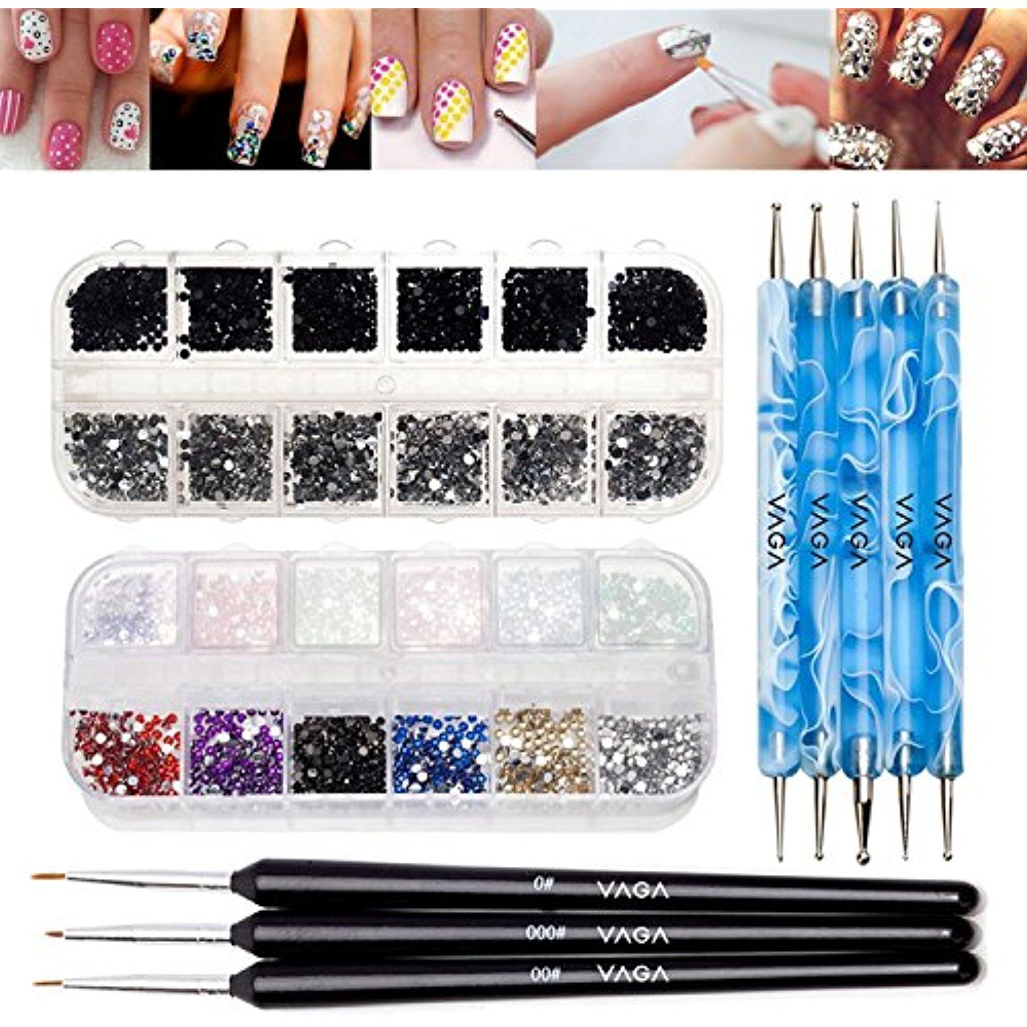Complete Best Quality Professional Nail Art Accessories Set Kit With ...