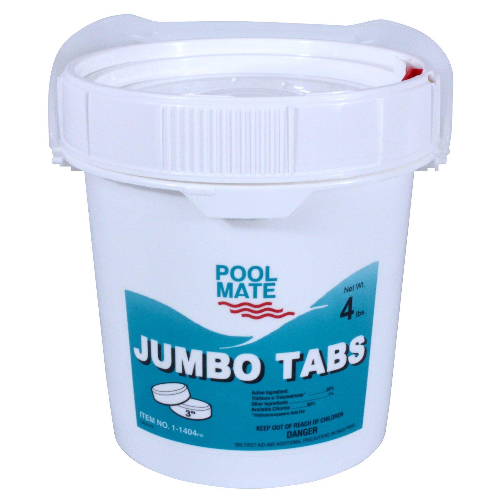 Pool Mate Chlorine Jumbo Tabs Swimming Pool Chlorine Pool Cleaning Swimming Pools