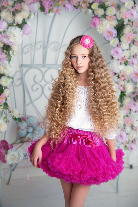 Russian child model Evelina Voznesenskaya