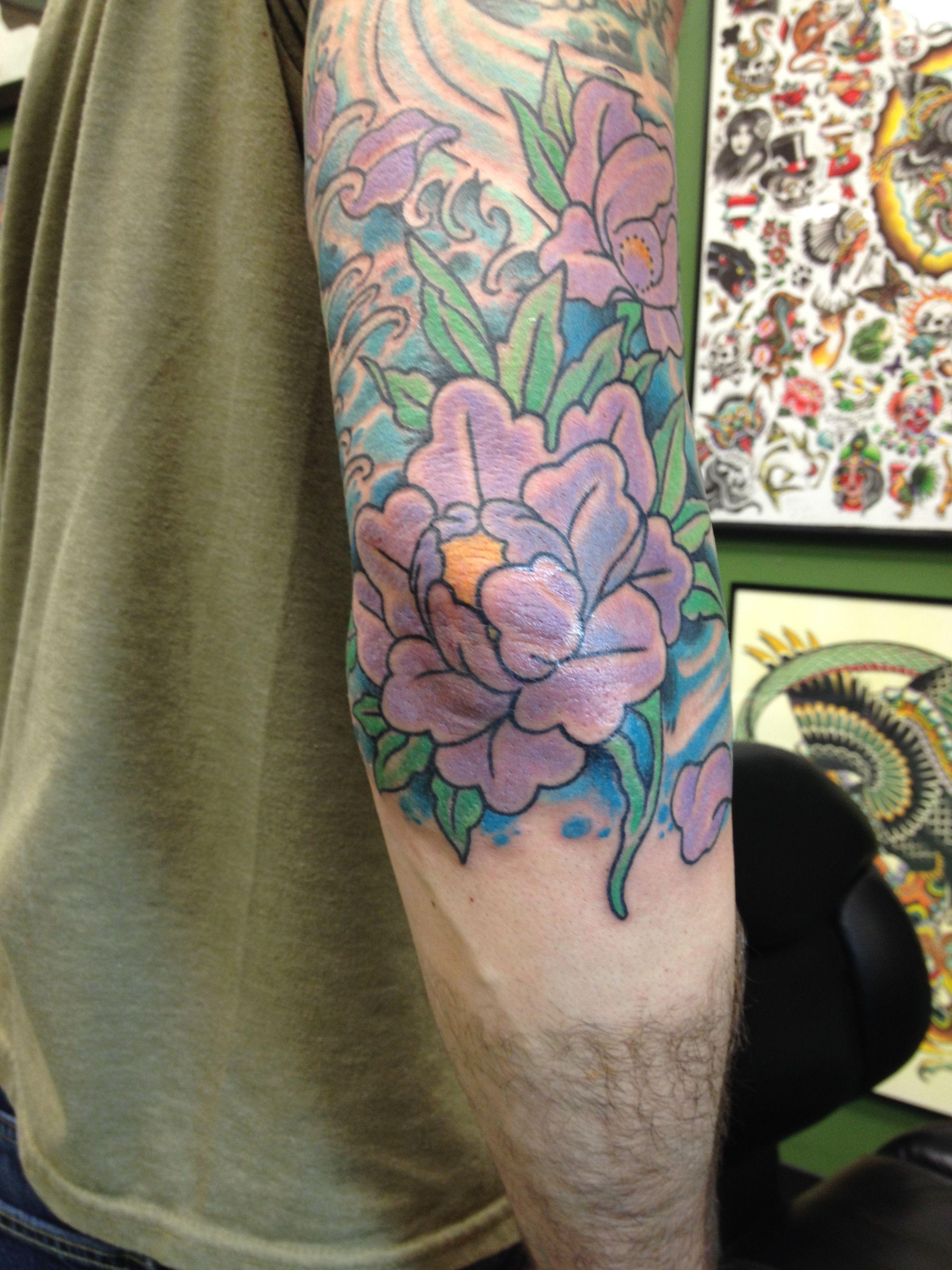 Peony flower tattoo on elbow elbow tattoos pinterest elbow peony flower tattoo on elbow peony flower tattoos elbow tattoos lotus tattoo izmirmasajfo
