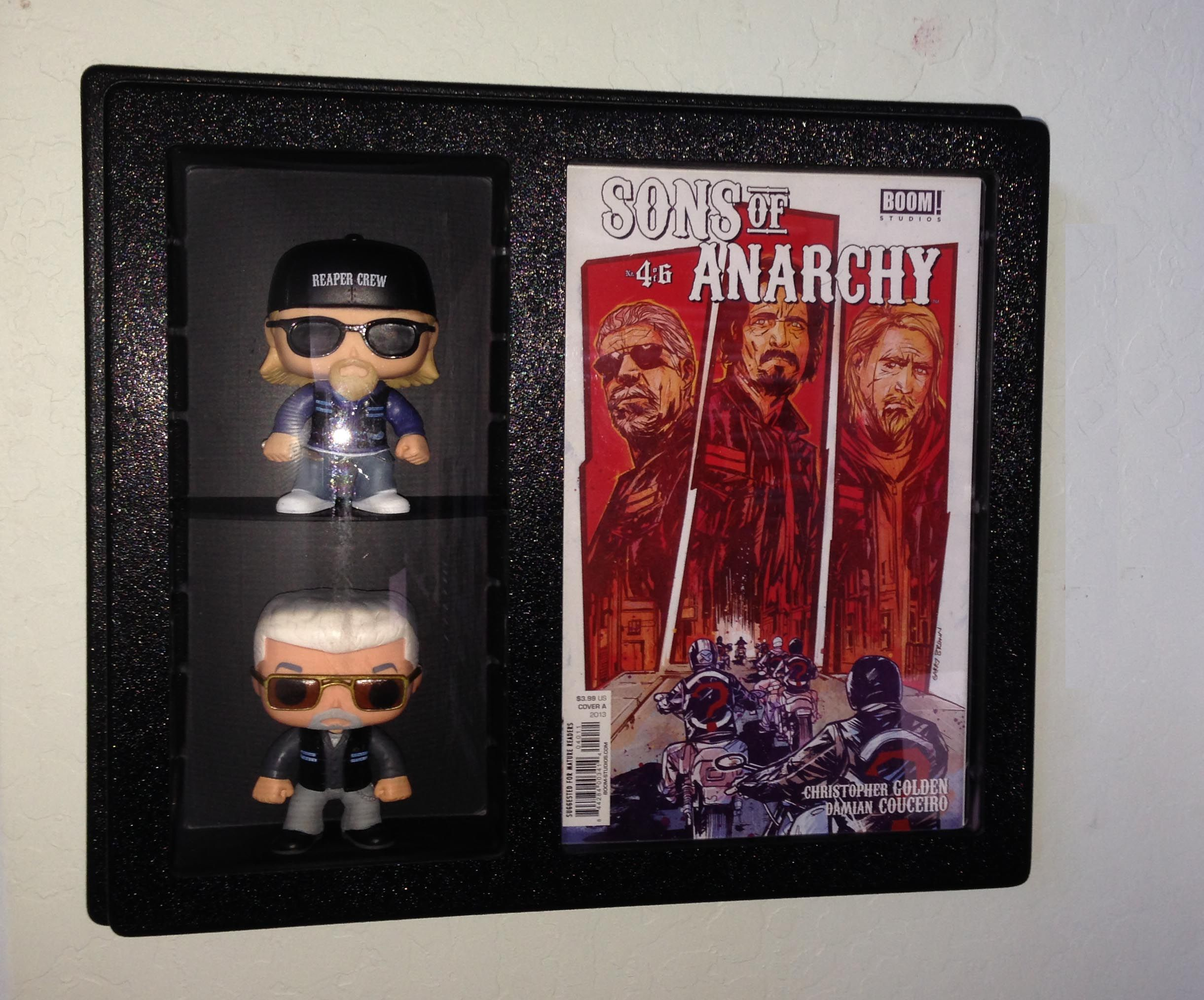Comic Book With Action Figure Display Go Adjustable Shelf For Up