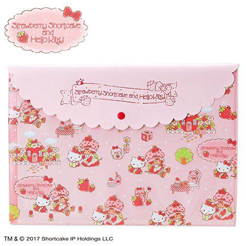 Sanrio Hello Kitty Strawberry Shortcake Fold Notes