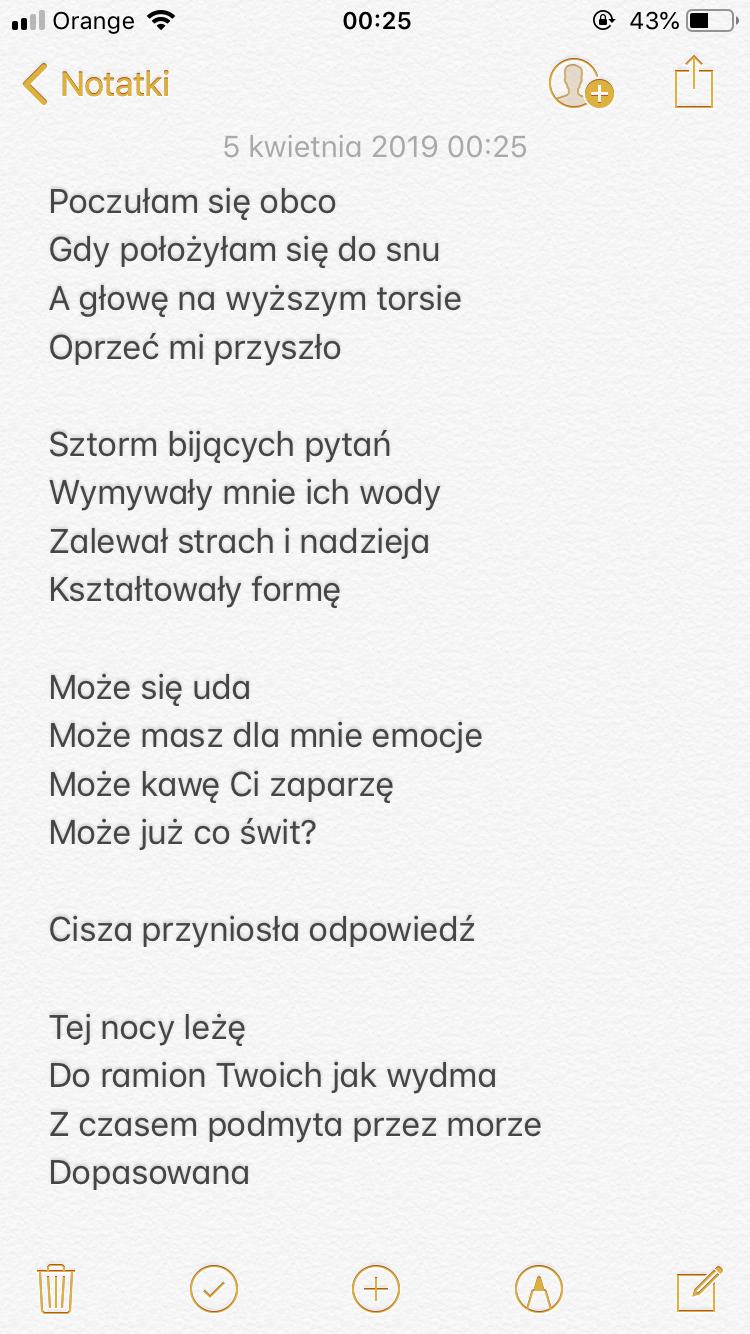Poezja Wiersz Wiersze Poetry Pani Patka Poezja