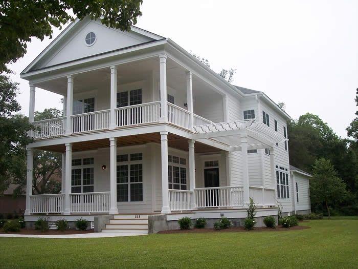 Image result for charleston side porch house plans for Charleston style house plans side porch
