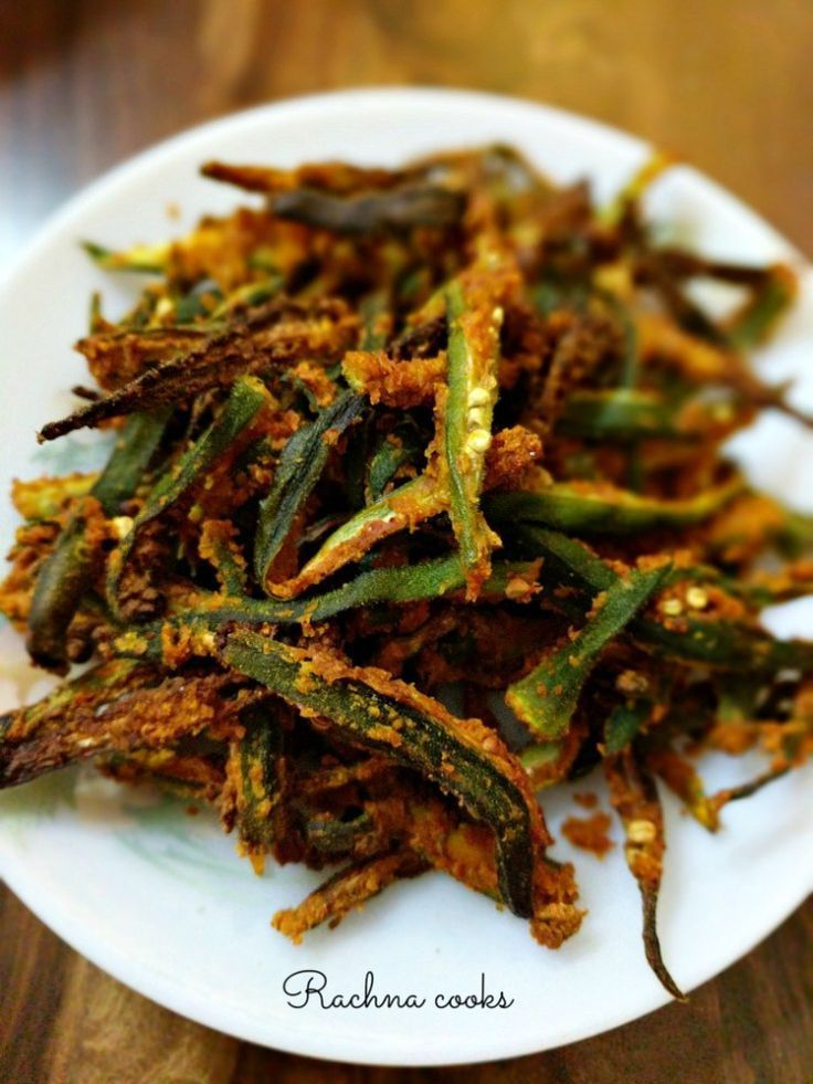 Crispy Air fryer Okra Recipe Kurkuri Bhindi Recipe (Step