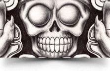 d5d6ed2025206 awesome aztec god tattoo Mictlantecuhtli Tattoo   Tattoos   Aztec ...